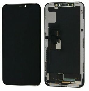 For iPhone X Touch Screen 5.8' OEM OLED Black Digitizer Replacement Display