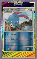 Azumarill Reverse -HS01:HeartGold SoulSilver-2/123-Carte Pokemon Neuve Française