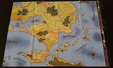D&D GREYHAWK Poster Map 3 of 4 LOWER RIGHT Dungeons and Dragons Dungeon 120 NEW!