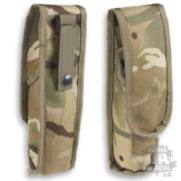 MTP MULTICAM MOLLE ANGLE HEAD TORCH POUCH BRITISH ARMY WEBBING OSPREY