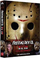 Blu Ray/DVD Freitag der 13. Teil 8 VIII Uncut Mediabook - wattiert NEU