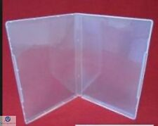 10 Ultra Clear DVD Style Multi Storage Case 14mm Empty Without Disc Holder AAA