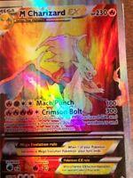 Please Read the Description Pokemon GX Ex, Mega Orica Proxy (M) Charizard Full