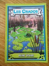 Image * Les CRADOS 3 N°11 * 2004 album card Sticker FRANCE Garbage Pail Kid