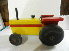 VINTAGE  WOOD TRACTOR FARM TOY VERY GOOD CONDITION 1960´S