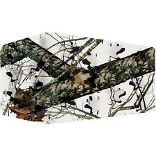 Mossy Oak Winter Camoflauge 3D Blind Fabric Hunting Camo Archery Elk Deer Hunt