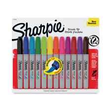 Sharpie Marker 12 Color Brush-Tip Set