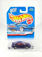 Hot Wheels MOC 1999 First Editions Purple '99 Mustang Red Interior #2/26 NEW NOC