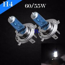 H4-9003 Xenon Halogen Light Lamp Bulbs Bright White 5000K 60/55w High/Low Beam