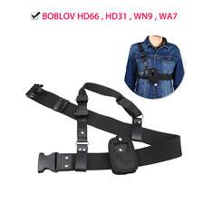 Body Worn Camera Black Single Shoulder Sling Belt Strap for BOBLOV High Quality