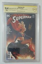 Supergirl Legion of Super Heroes 23 Adam Hughes Signed Cover Superman 43 Spanish