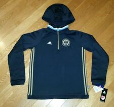 Adidas Philadelphia Union Soccer Sweater Hoodie Youth Large 14/16 Navy NEW $65