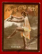 #31741 ALGIERS Algeria 1900s. Dancer lady. Tobacco cigarette card MELIA