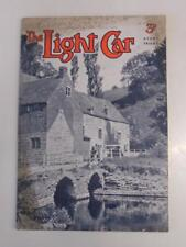 THE LIGHT CAR MAGAZINE 18 AUG 1939 - VAUXHALL ROUGE, ROVERS 10+12, RILEY SPECIAL