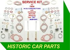 "SERVICE KIT for TWIN 1½"" SU H4 Carbs on Austin Healey 100/6 BN4 2+2 1956-59"