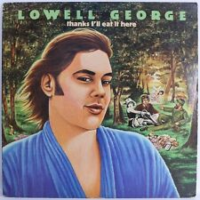 "Lowell George – Thanks I'll Eat It Here 1979 [NM] VINYL 12"" LP"