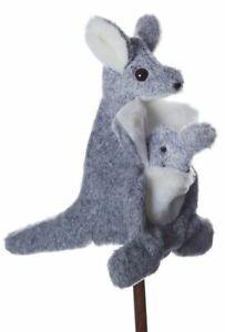 Kate Kangaroo and Joey Australian Native Animal Puppet