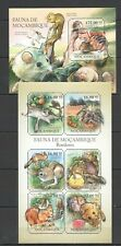 Bc1075 2011 Mozambique Fauna Of The Mozambique Animals Rodents Bl+Kb New