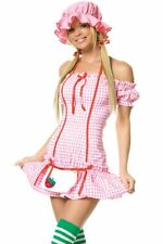 Adult Strawberry Girl Halloween Costume by Leg Avenue Size XLarge