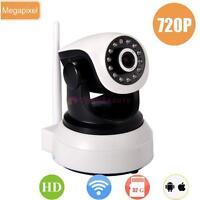 Wireless Pan Tilt 720P Security Network CCTV Camera Night Vision WIFI Webcam BG