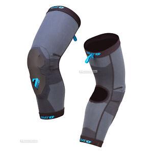 7iDP PROJECT LITE MTB Mountain Bike Protection Knee Pads : BLACK/GREY
