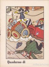 * Copybook - Walt Disney Style - Mickey Mouse / Topolino (Ill.De Majo 1)