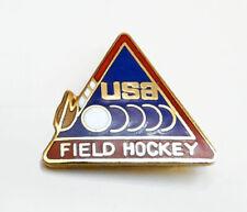Small USA Field Hockey Lapel Pin 1988