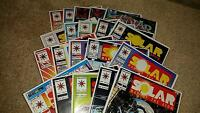 (20) Solar Man of the Atom Valiant Comics Comic Book Lot Bagged/Boarded