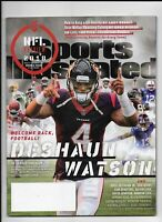 2018 Sports Illustrated Magazine ~ Deshaun Watson Texans Football NFL Preview