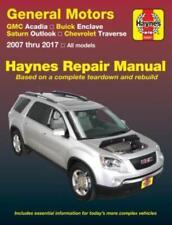 Haynes Manual GMC Acadia Buick Enclave Saturn Outlook Chevrolet Traverse 07-2017