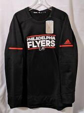 NWT Adidas Philadelphia Flyers Player Long Sleeve Crew Sweatshirt Sz XXL D77061