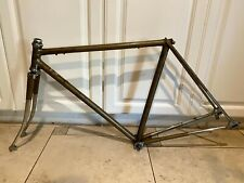 VINTAGE: RALEIGH INTERNATIONAL ROAD RACING FRAMESET STEEL 50cm FRAME ENGLAND