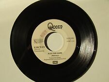 "Queen / Play The Game – Disco Vinile 45 Giri 7"" Stampa Italia 1980 No Cover"