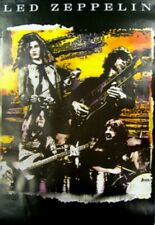 Led Zeppelin Band Montage Poster 34x22