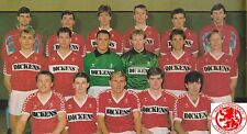 MIDDLESBROUGH FOOTBALL TEAM PHOTO>1986-87 SEASON