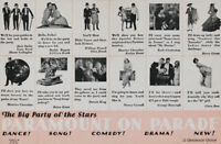 Paramount on parade 1930 vintage movie poster #2