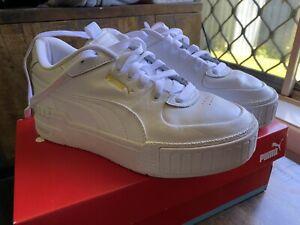 Puma Cali Sport White Sneakers Women's Size 6