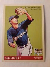 2009 Upper Deck Goudey ALCIDES ESCOBAR Rookie #105 Milwaukee Brewers