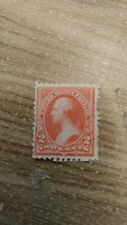 U.S.A. Stamp Scott #248 1894 2 Cent George Washington Pink Triangle Issue