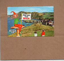 1970's Bamforth good luck from Devon colour card unposted BR1