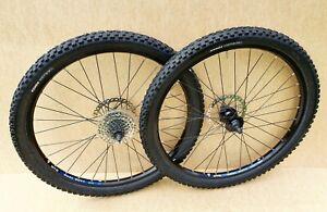 """WTB Dual Duty 26"""" QR Wheels Disc Brake VGC - Mountain Jump DH MTB BIKE Wheelset"""