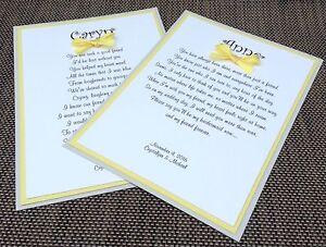 Will You Be My Bridesmaid Card Gray And Yellow Wedding Card Wedding Invitation