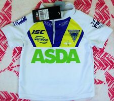 WARRINGTON WOLVES TESTIMONIAL JERSEY toddlers size 2 new with tags