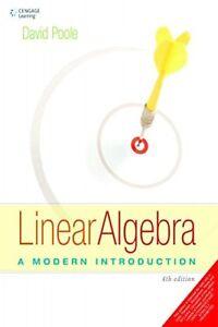 Linear Algebra: A Modern Introduction,4th Edition by David Poole