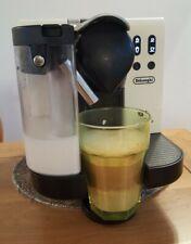 DeLonghi Nespresso White Lattissima EN660 Coffee Maker - Cream