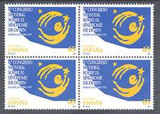 1997 CONGRESO MUNDIAL SOBRE EL SINDROME DE DOWN  EDIFIL 3517 ** MNH B4   TC12342