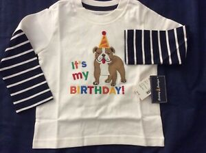 18-24 Month Boys 'It's My Birthday' Long Sleeve Shirt by Gymboree-NEW WITH TAGS!