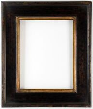 "16 x 20  Plein air  Picture Frame Hand Burnished Black & Gold  ""Super Quality"""