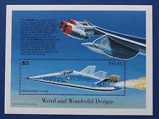 Palau (#406) 1996 Martin Marietta X-24B sheet (MNH)