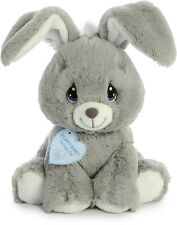 "Aurora - Precious Moments - 8.5"" Floppy Bunny Grey"